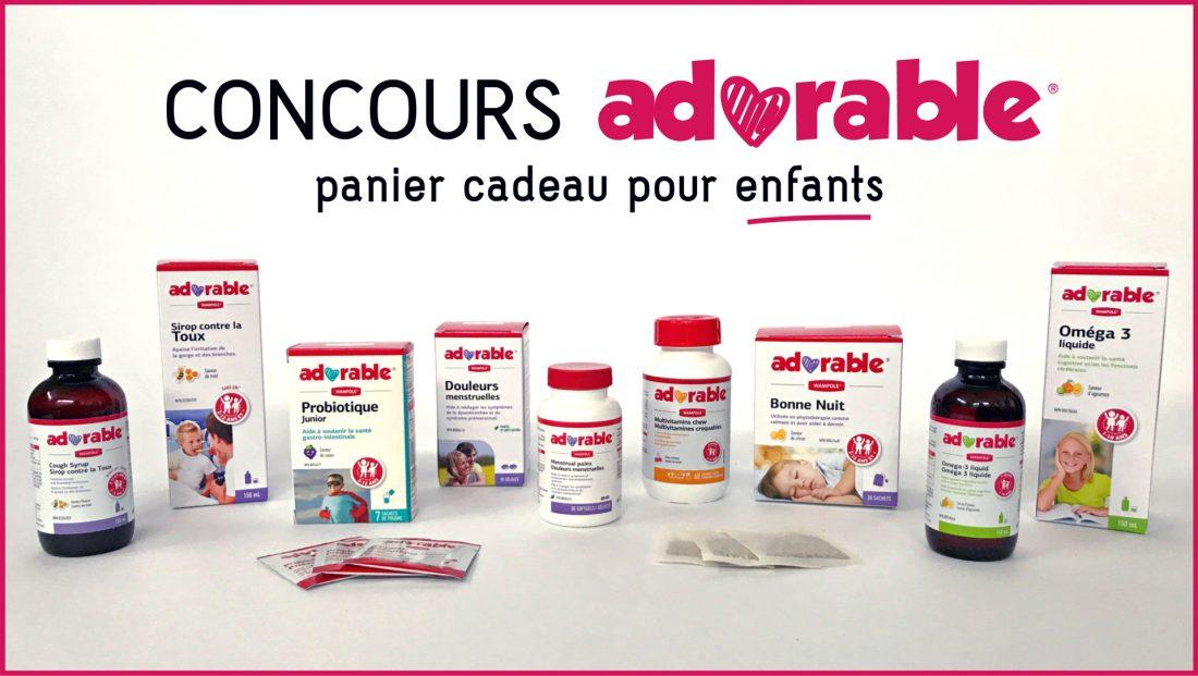 CONCOURS ADORABLE POUR ENFANTS !